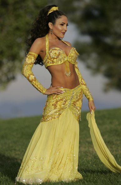 Las Vegas Belly Dancer 1