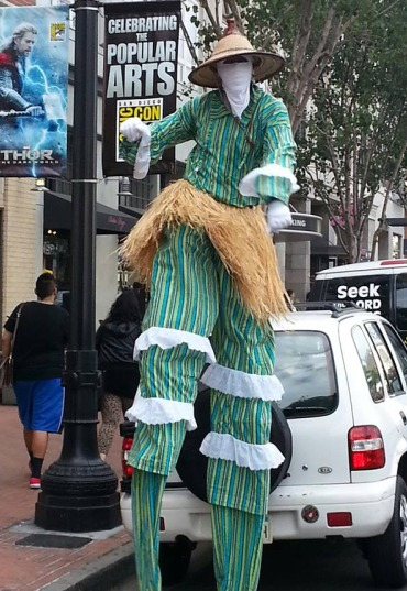 San Diego Stilt Walker 1
