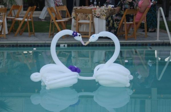 Los angeles photo booth rental 1 hire live bands music for Balloon decoration los angeles